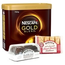 Nescafe Gold Blend Coffee Granules 750g (2 Free Border Biscuits)