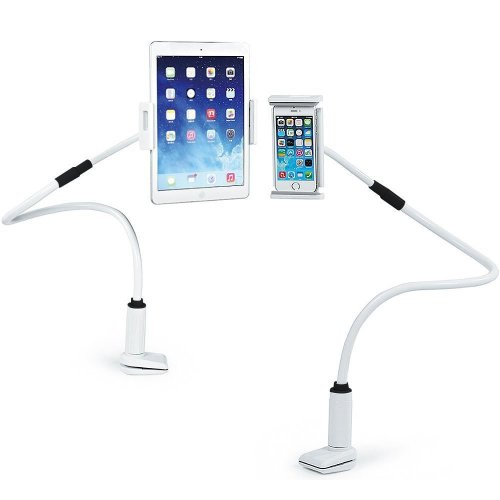 Mobile Phone Holders & Stands Mobile Phone Accessories Adjustable Tablet Stand Desktop Aluminium Holder 360 Degree Rotating Tablet Stand Hold For Bed 80 Cm For Ipad Pro Mini Iphone7