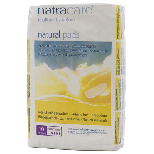 Natracare Natural Pads Night Time | 10s