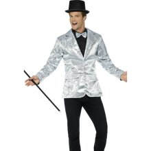 24b9f978366 Smiffy s 21139xl Sequin Men s Jacket (x-large) - Adults Stag Night Circus -  adults sequin jacket stag night circus ringmaster fancy dress accessory