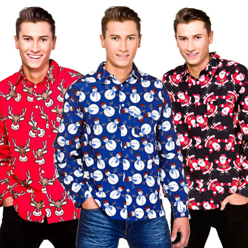Novelty Long Sleeved Christmas T-Shirt