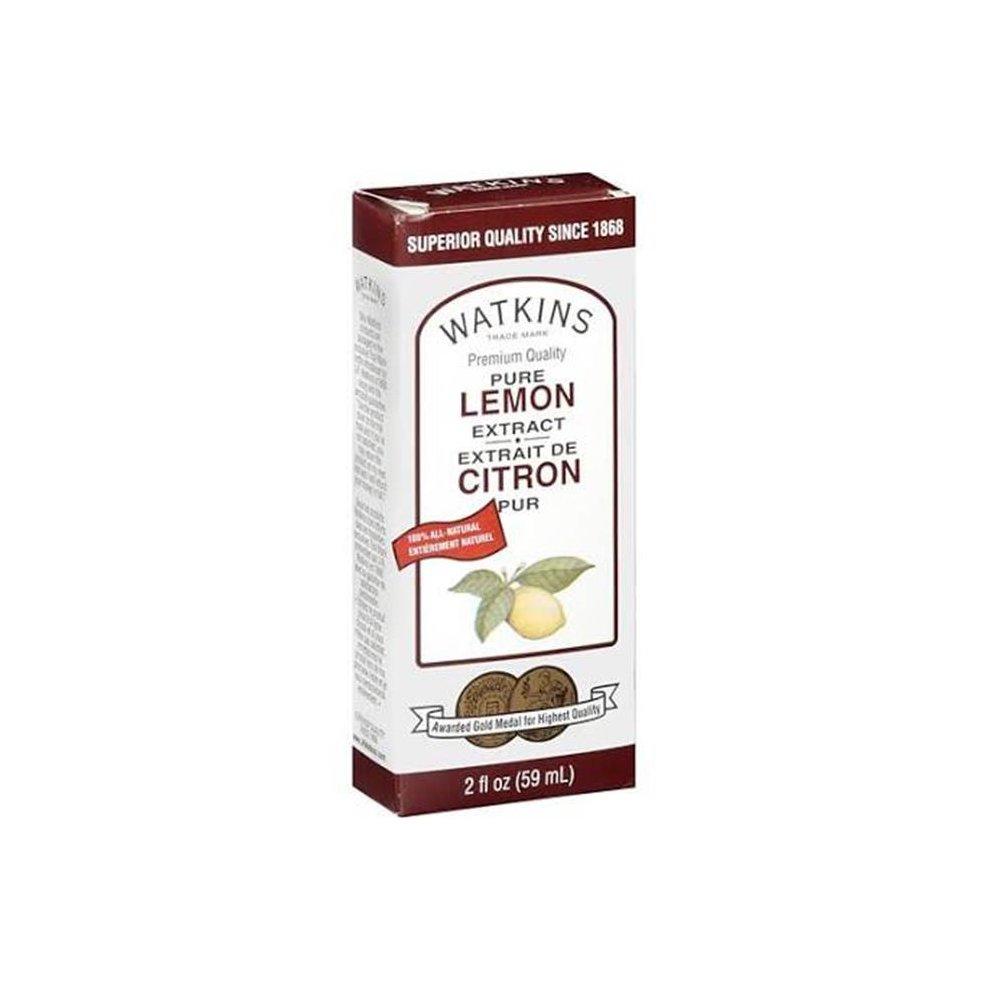 Watkins 604536 2 oz Extract Pure Lemon - Pack of 12