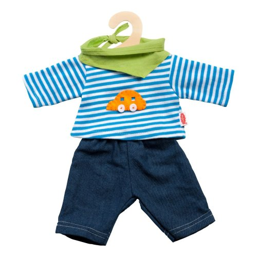 Heless 1315Heless Jeans with Striped Shirt for Small Doll