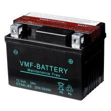 VMF Powersport Liquifix Battery 12 V 3 Ah MF YTX4L-BS