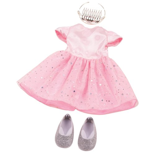 Gotz 3402677 Standing Doll Combo Royal - Size XL - Dolls Clothing / Accessory Set - Suitable For Standing Dolls Size XL (45 - 50 cm)