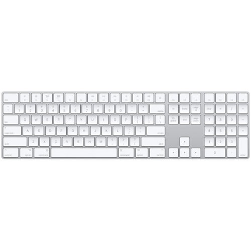 Apple MQ052LB/A Bluetooth QWERTY US English White keyboard