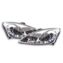 Daylight headlight  Ford Focus 3/4/5-door. Year 98-01 chrome