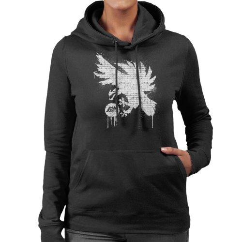 Destiny Warlock Graffiti Women's Hooded Sweatshirt