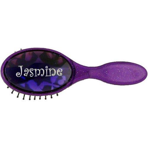 Jasmine Bejewelled Hairbrush