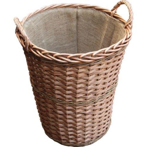 Somerset Tall Log Basket with Lining