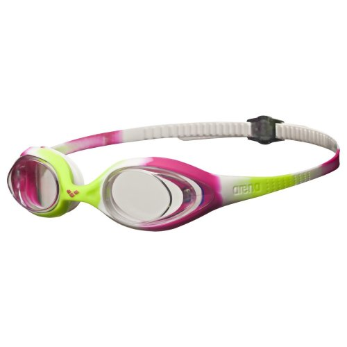 0b48d827b9001 Arena Spider JR Child's Swimming Goggles, Children's, Kinder-Schwimmbrille  Spider JR, Lime/Fuchsia/White Clear, One Size on OnBuy