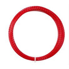 High Elastic And Durable Tennis Racket Line Tennis Strings (Hard Line, Red)
