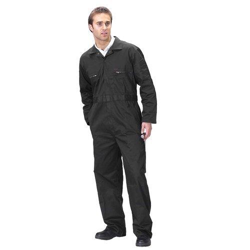 """Click PCBSHWBL36 Super Polycotton Boiler Suit Black 36"""""""