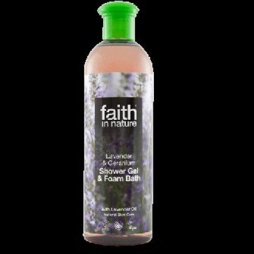 Faith In Nature - Lavender & Geranium Shower Gel/FB 400ml