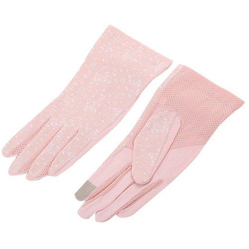 Women Cycling Gloves Bicycle Riding Gloves Elegant Bike Gloves Pink