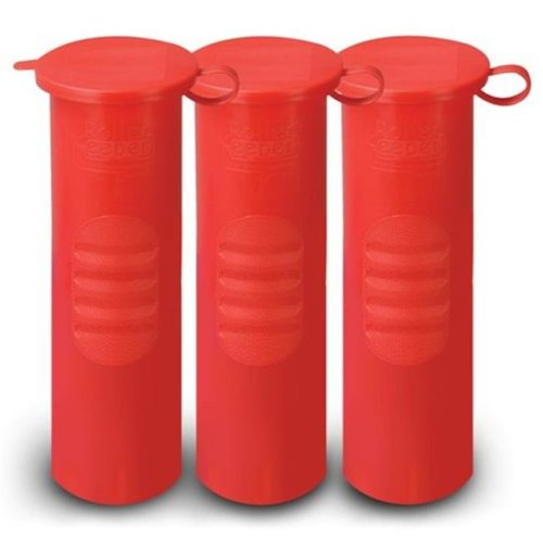 Obvious Solutions 3-PK-RD Roller Keeper in Red - 3 Pack