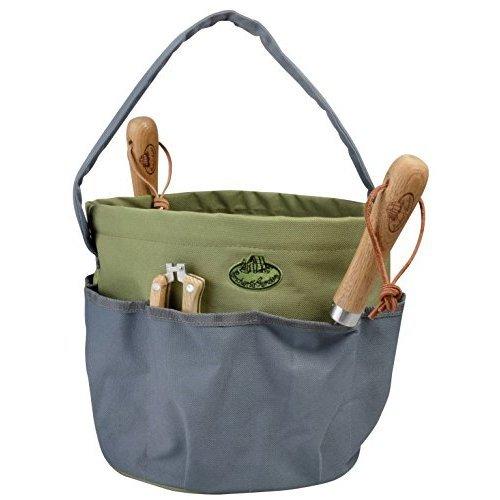 Esscherts Garden Round Tool Bag - Green/Grey