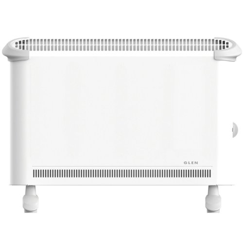 GLEN 2KW COMPACT CONVECTOR HEATER WITH THERMOSTAT