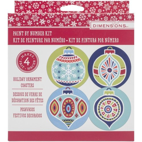Dpw91506 - Paintsworks Paint by Numbers - Holiday Coasters