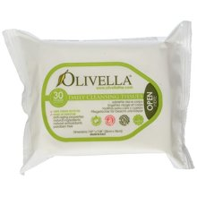 OLIVELLA Cleansing Tissues, 30 Count