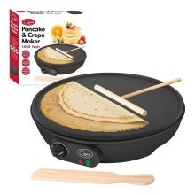 Pancake & Crepe Maker 1000W Non Stick Plate/Thermostatically Controlled