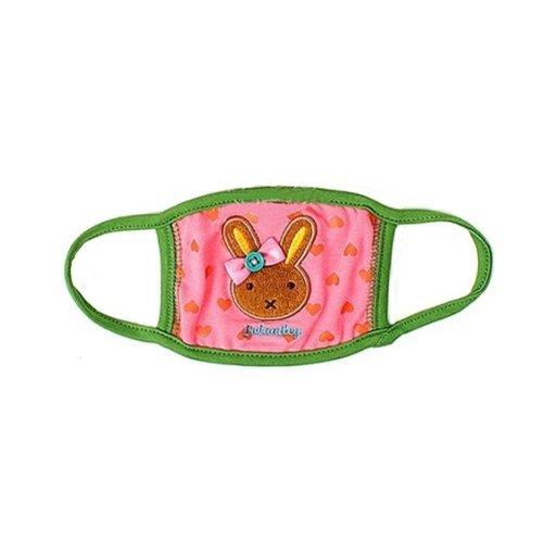 Children's Mask For Windproof, Dustproof, Breathable Masks (Pink Rabbit)
