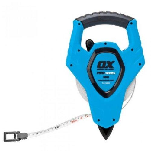 Ox P028250 Pro Open Reel Tape Measure 50 Metre 165ft