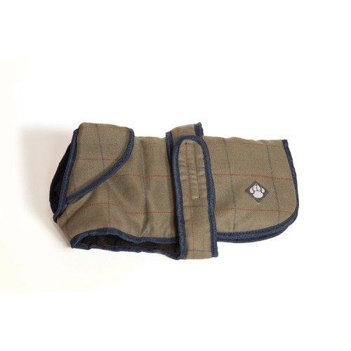 Tweed Dog Coat 30cm (12'')