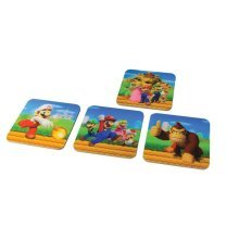 Officially licensed Super Mario 3D Design Coasters - Multi-Colour