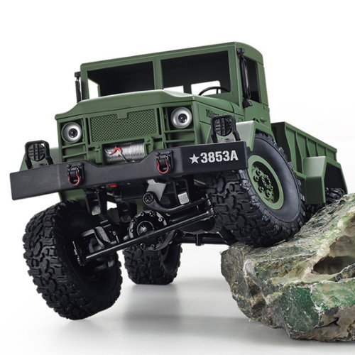 Heng Long Tank Military Army 4WD Jeep Army Truck War Craft Green RTR