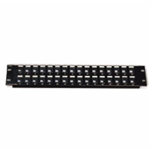 Cables To Go 03857 BLANK KEYSTONE-MULTIMEDIA PATCH PANEL 12-PORT