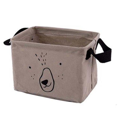 Desktop Organizer Bag Storage Box Folding Storage Basket #02