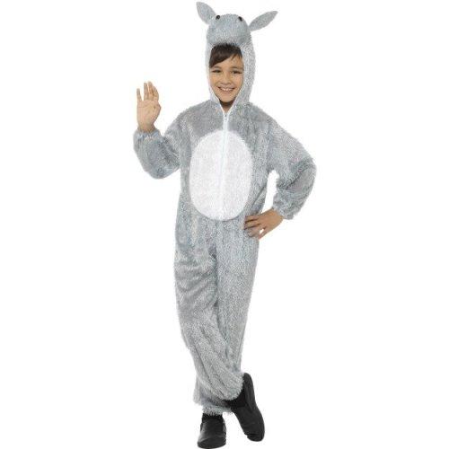 7-9 Years Children's Donkey Costume -  fancy dress costume donkey animal kids nativity girls boys childrens 79 outfit book smiffys day