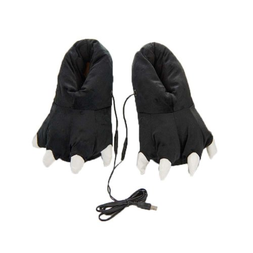 [Paw] Heating Shoes Warm USB Electric Heated Slipper usb Foot Warmer for Winter 26cm