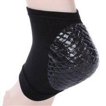 Plantar Fasciitis Sleeve Squama Heel Brace Black 1 pair Heel Spur