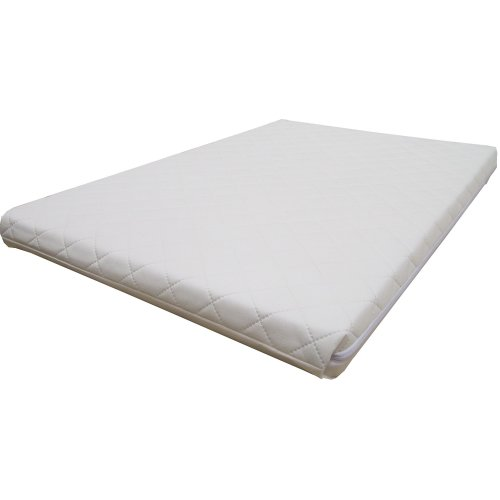 Mother Nurture Deluxe Foam Hypo Allergenic Travel Cot Mattress (119 cm x 59 cm)