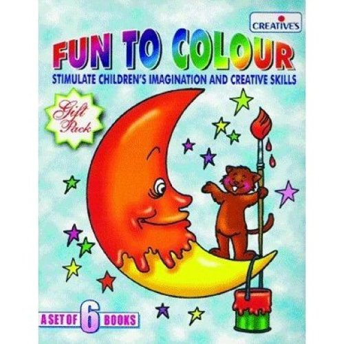 Creative Books - Fun Books, A Set Of Three Books - Cre0505 Set Three -  books cre0505 creative fun set three