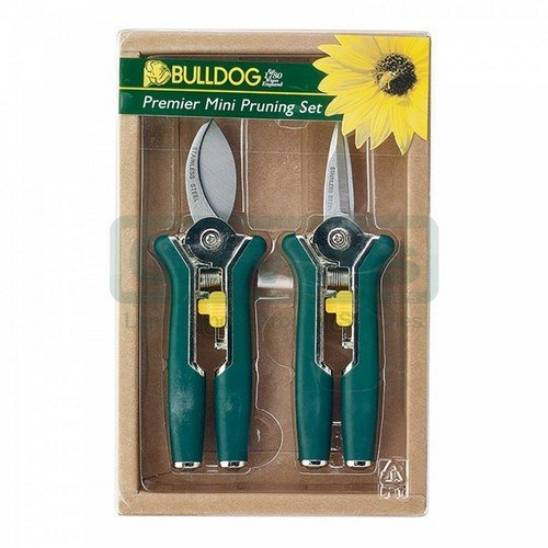 Bulldog BD3151GRN Premier Green Mini Pruning Secateur Set