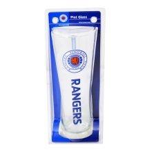 Rangers Wordmark Crest Peroni Pint Glass - Wm Fun Gift Official Licensed -  rangers pint glass peroni crest wm fun gift official licensed football