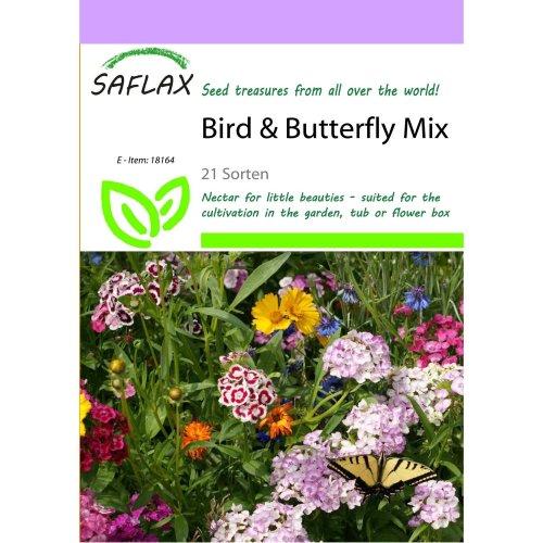 Saflax  - Bird & Butterfly Mix - 21 Sorten - 1000 Seeds