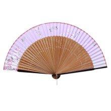 Elegant Hand Fan Portable Folding Fan Carved Handheld Fan Chinese Fans #10