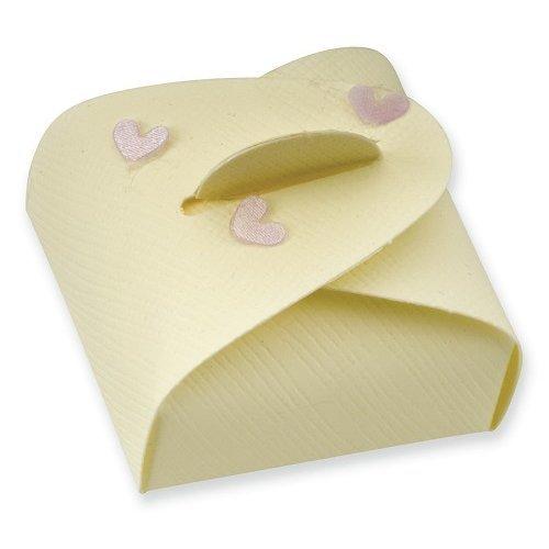 Ivory Silk Mini Astucci Box (47x47x17mm)