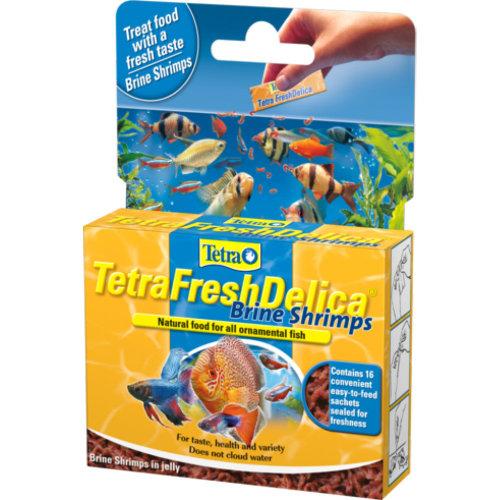 Tetra Fresh Delica Brine Shrimp 16x3g