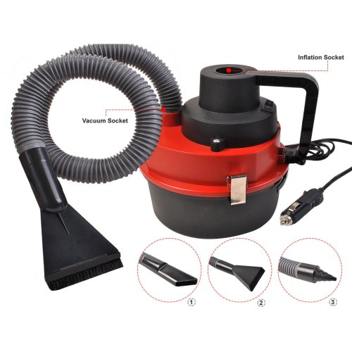Auto Car Vacuum Cleaner Wet & Dry DC 12 Volt Portable High Power