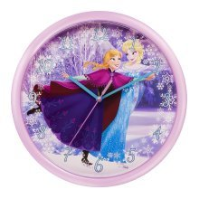 Disney Pink Frozen Wall Clock -