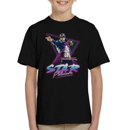 Star Platinum Jojos Bizarre Adventure Kid's T-Shirt