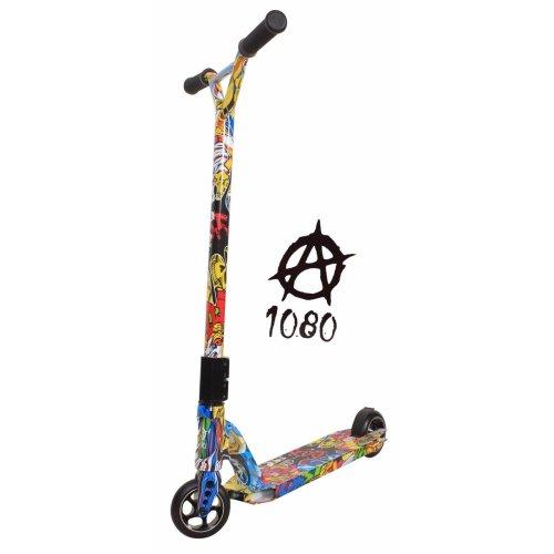Limited Edition 1080 Kids Adults Grafitti Push Kick Alloy Stunt Scooter ABEC 9