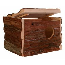 Trixie Natural Living Nesting Box, 21 x 13 x 12cm - Bocm 12 -  x natural box trixie nesting living cm 21 13 12