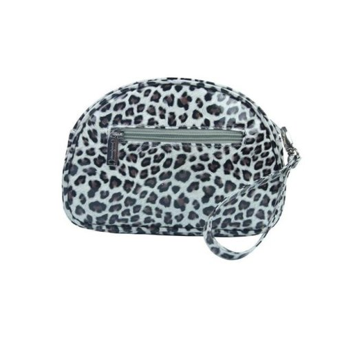 Picnic Gift 7424-CT Pina Colada-Clutch Insulated Cosmetics Bags with Removable Wristlet, Cheetah