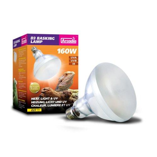 D3 Uvb Basking Lamp 160 Watt